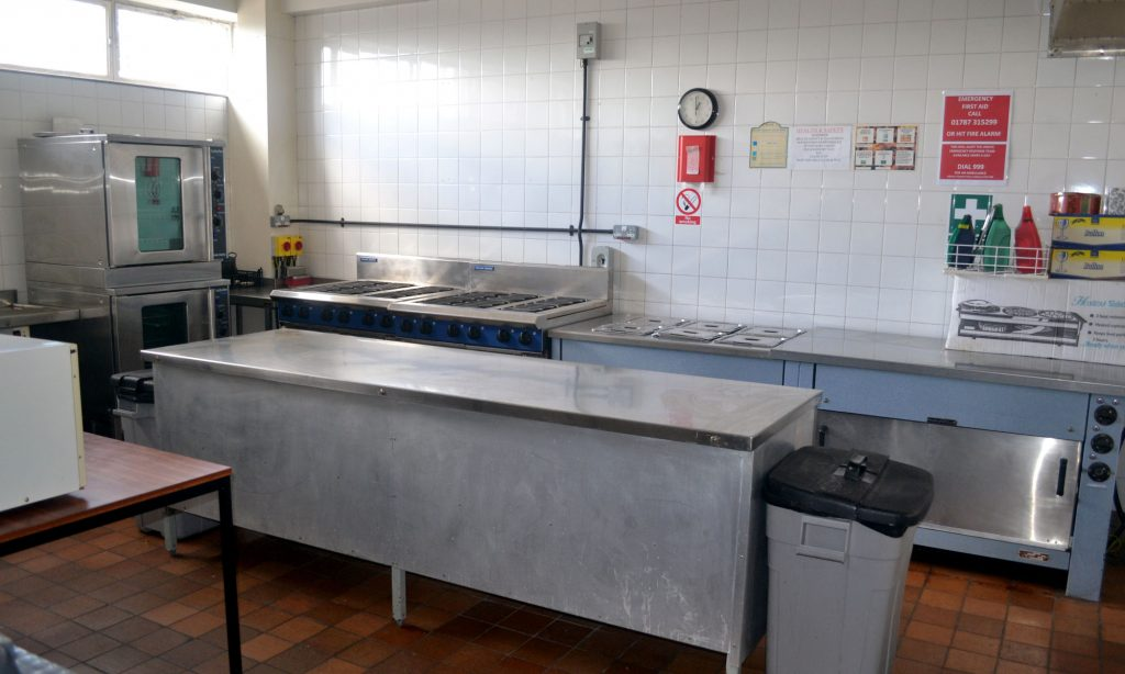 Delphi Centre Fully Equipped Business Kitchen