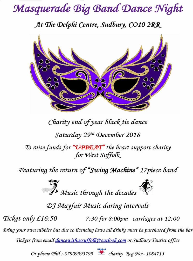 Masquerade Big Band Dance Night