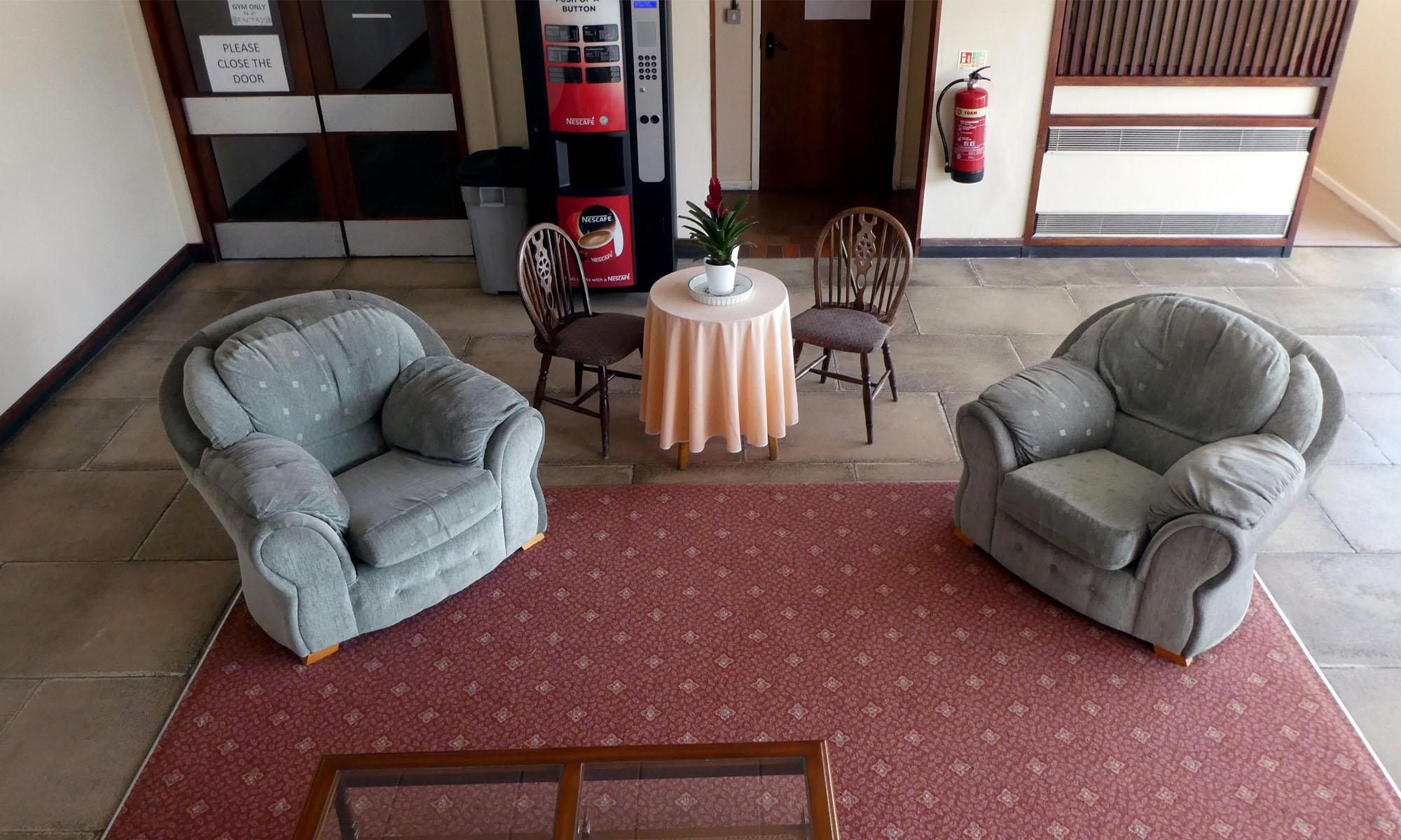 Delphi Centre Comfortable Lounge Area