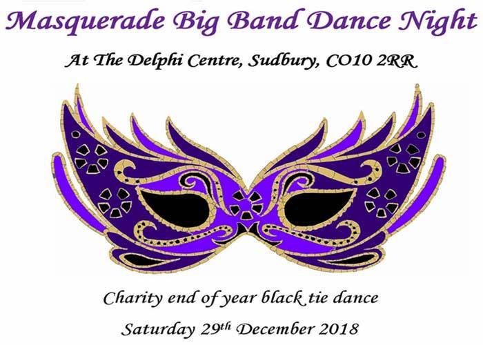 Delphi Centre Masquerade Big Band Ball