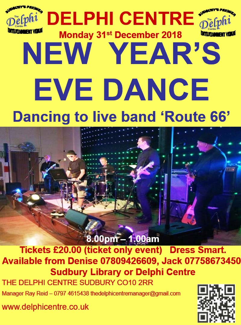 New Years Eve Dance Delphi Centre