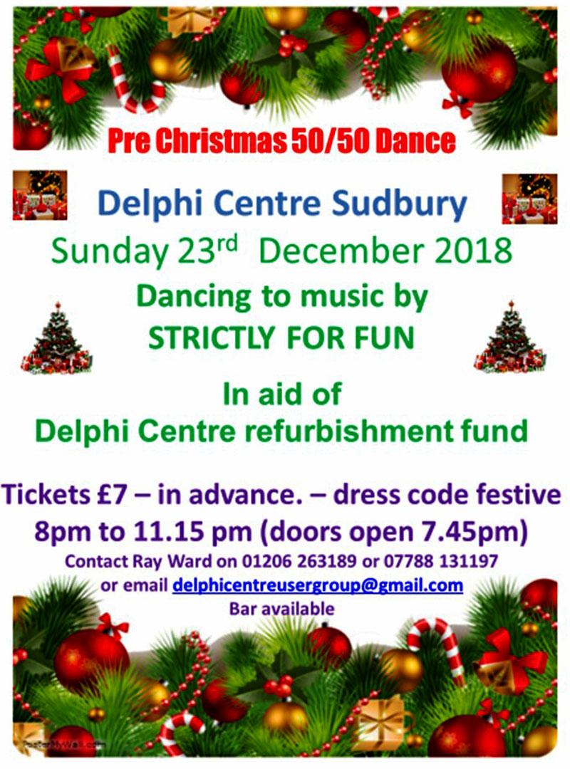 Pre Christmas Dance Delphi Centre